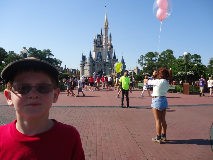 Mr Luke at Disney 2012