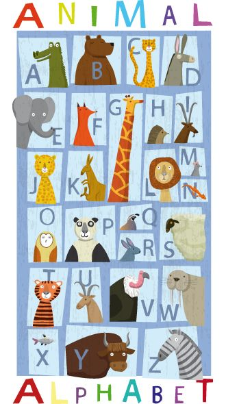 littlechien via carnetimaginaire carnetimaginaire:  Katherine & Gareth Lucas, Animal Alphabet