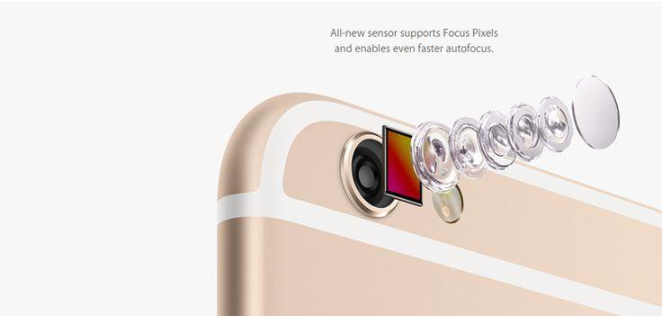 iPhone 6 autofocus feature