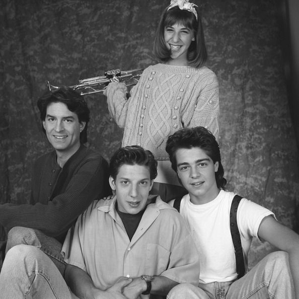 Ted Wass as Nick Russo Michael Stoyanov as Anthony Russo Joseph Lawrence as Joey Russo Mayim Bialik as Blossom Russo