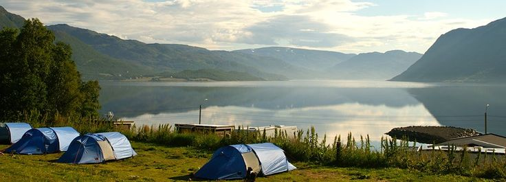 24 hour day in Norway. Happy camping!