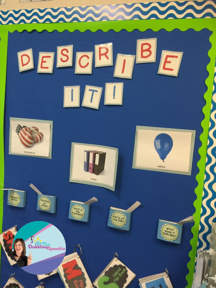Speech Therapy Bulletin Boards- Functional ways to use space in your speech room