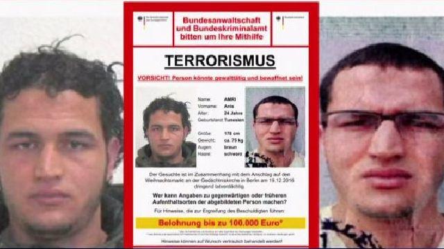 Anis Amri, el sospechoso del ataque del mercado navideño de Berlín, murió en un tiroteo matutino en Milán, anunció el viernes la policía estatal italiana.