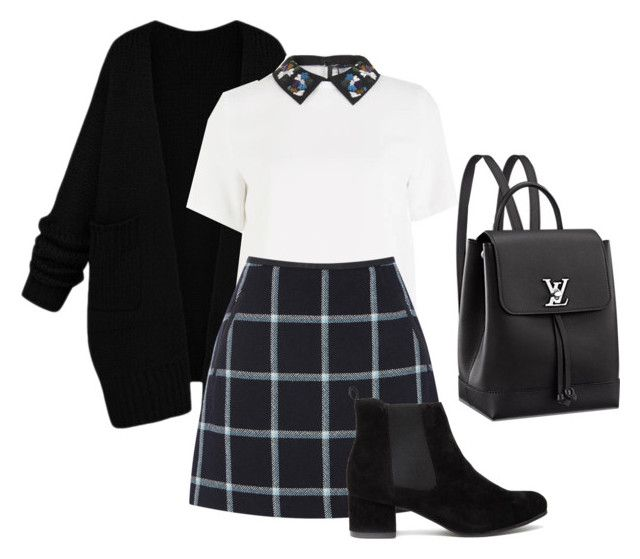 Untitled #77 by creece-massoudi on Polyvore featuring polyvore, fashion, style, Sportmax, Oasis and clothing