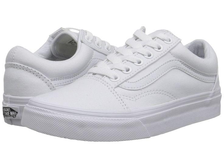 VANS Canvas Old Skool Men   True White (D3HW00)