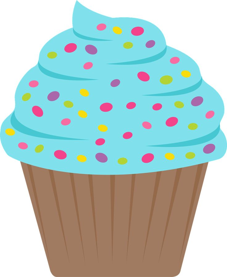 Clipart De Cupcake : 341 best Cupcake Clipart images on Pinterest Cupcake ...