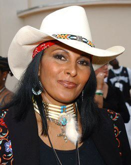 The beautiful Pam Grier.  Legend. Native American