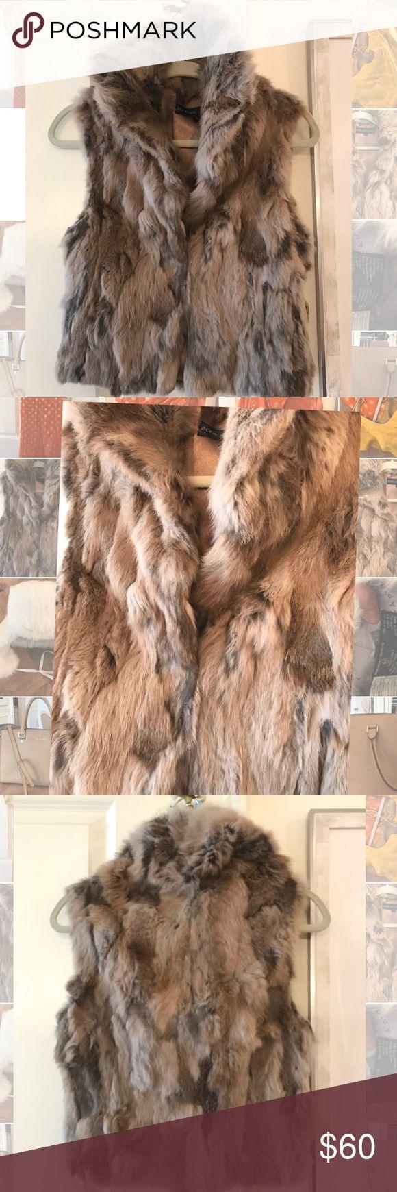 Adrienne landau rabbit fur vest Adrienne landau real rabbit fur vest. No trades no holds. Adrienne Landau Jackets & Coats Vests