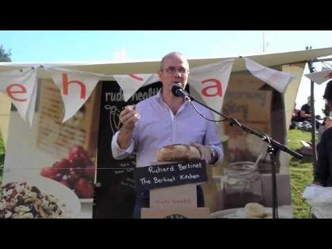 Richard Bertinet - Real Bread rant at Abergavenney