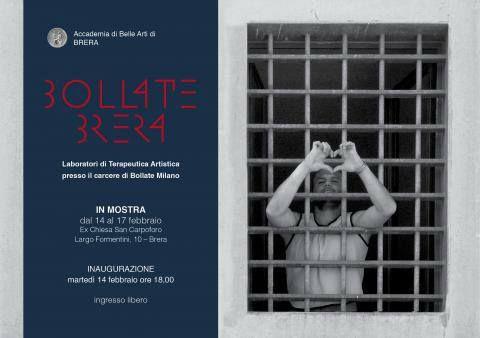 """""""Bollate Brera"""" La #terapeuticaartistica collabora da sempre con il #carcere di #Bollate. La mostra #bollatebrera realizzata nella sede di #sancarpoforo in #Brera espone #opere di detenuti, docenti e #artistiterapisti.  In mostra dal 14 al 16 febbraio 2017    Per maggiori info sulla mostra: http://www.accademiadibrera.milano.it/it/bollate-brera.html-0"""