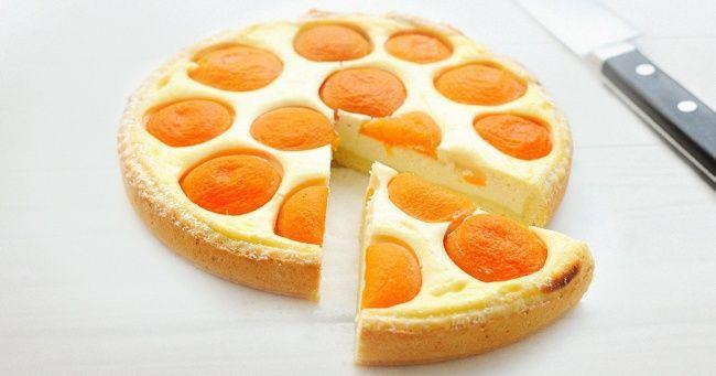 Рецепт легкого пирога сперсиками