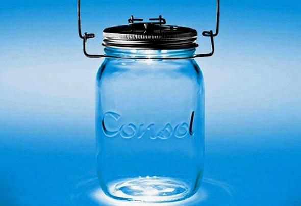 Consol Sun Jar, works with solar energy