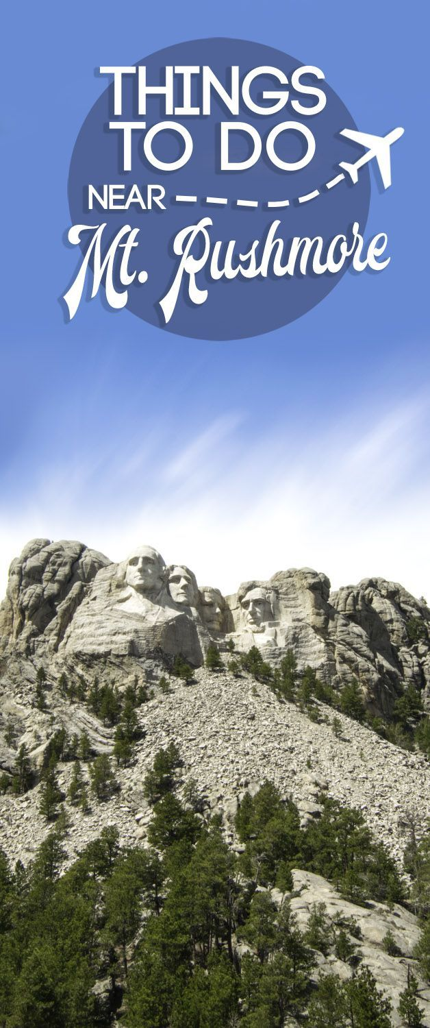 Don't make the mistake of only visiting Mount Rushmore in South Dakota (USA). There are a ton of things to do near Mount Rushmore, our top 10 all less than 90 minutes via @gettingstamped