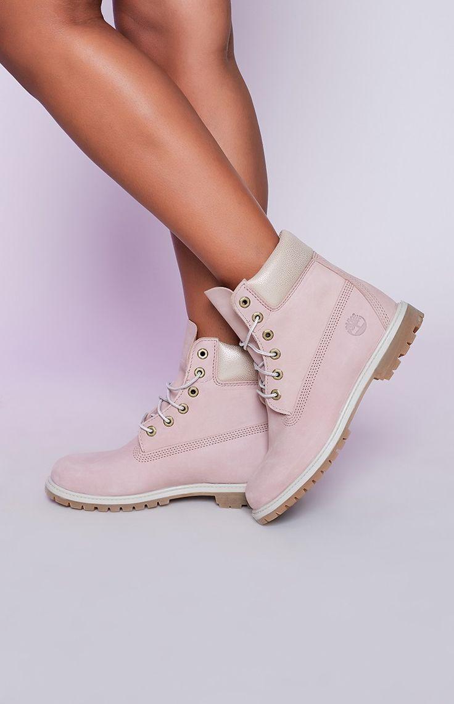 "Timberland 6"" Premium Boots Cameo Rose"