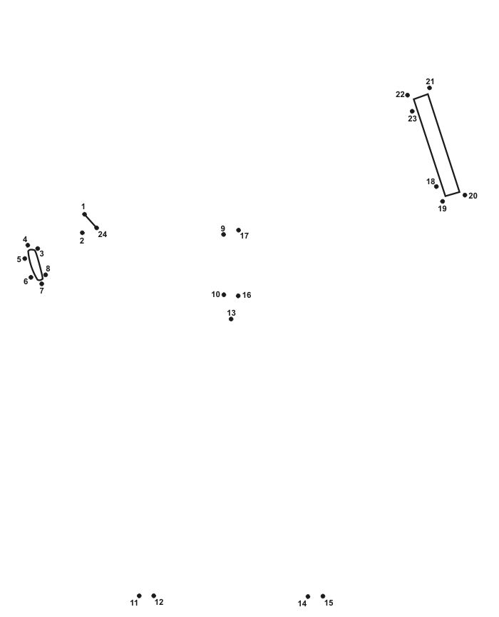 Space Dot to Dot of a telescope