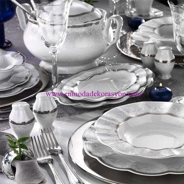 Kütahya Porselen Nil 83 Parça Yemek Takımı