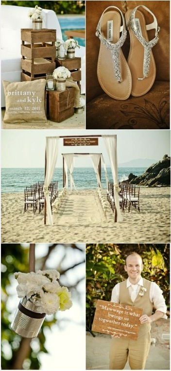 Some decor inspirations for your beach wedding in Bali
