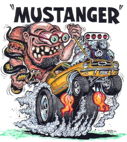 "Ed Roth's ""Mustanger"""