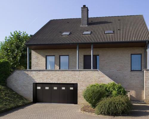 Porte de garage avec porte latérale - Harol