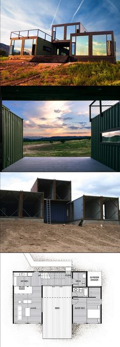 Shipping Container House Plan Book Series – Book 49 #containerhome #shippingcontainer