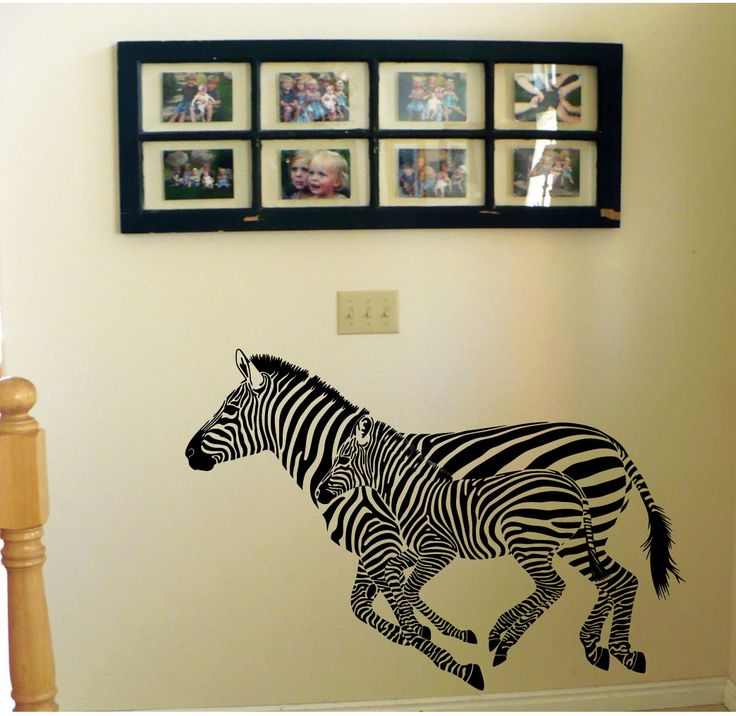 Elegant Zebra Wall Stickers | Zebra Stickers For Walls / Wall Decals From  Amazingsticker Part 32