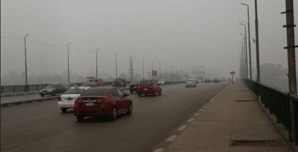حالة الطقس اليوم الإثنين الشبورة المائية تغطى معظم الأنحاء Road Structures