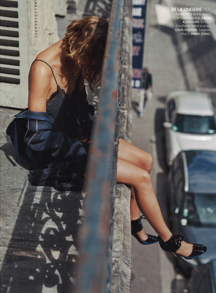 Velvet Midnight Lingerie - Editorial AW16 - Elle 26 Aout 2016 Spécial Mode