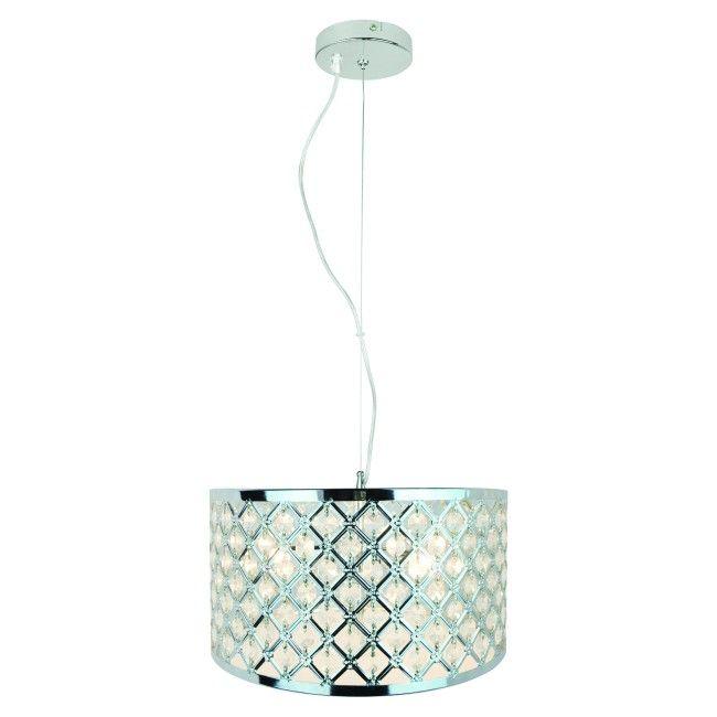 Lampa wisząca Colours Glover 3 x 40 W G9 chrom