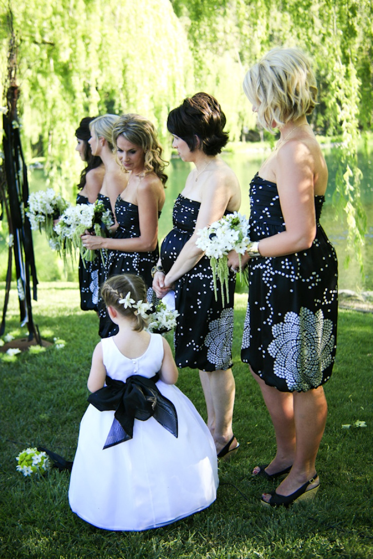 Black Amp White Wedding In Wine Country From Gia Canali