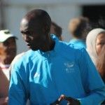 World Record Holder Wilson Kipsang, special guest #OMTOM2014