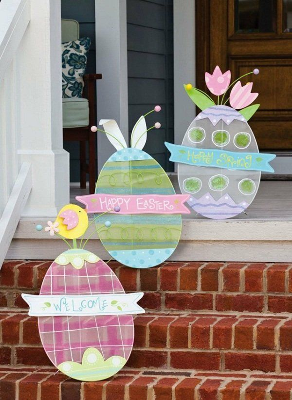 Best 25 Outdoor Easter Decorations Ideas On Pinterest Decor And