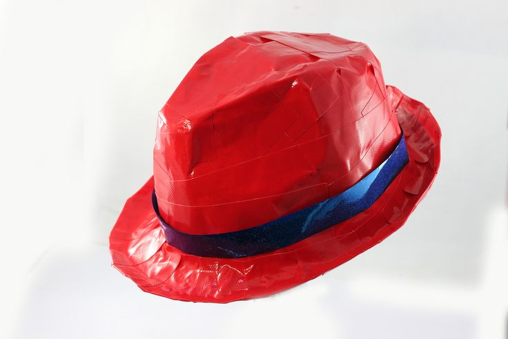 Agency D3 How to make a Duct tape Spy Hat