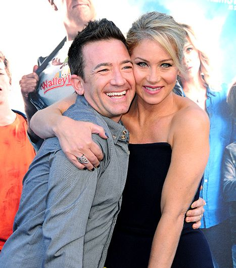 Christina Applegate Reunites With Her Married With Children Costar David…