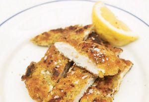 Crunchy Garlic Chicken. Jaime Oliver's food revolution recipes