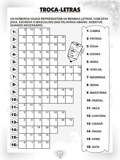 Ensinando com Carinho: Atividades de Português 4º ano