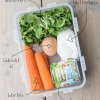 Salade voor naar het werk – Deel 1