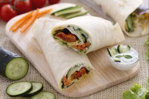 Ricetta Veggie wrap