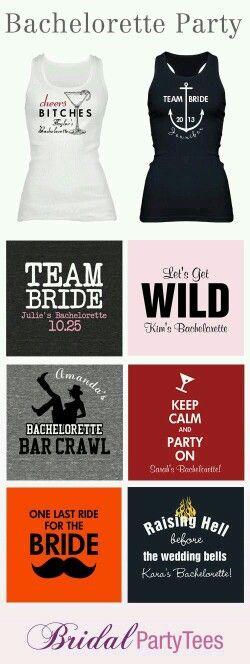Bachelorette party shirt ideas