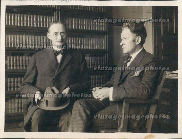 1923 President Walter Dill Scott Northwestern University McKinley Press Photo