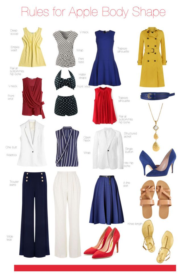 """Rules for Apple Body Shape"" by pinkrubbersoul ❤ liked on Polyvore featuring Karl Lagerfeld, Kate Spade, Uniqlo, Topshop, Rupert Sanderson, Vionnet, John Hardy, KYMA, Sergio Rossi and H&M"