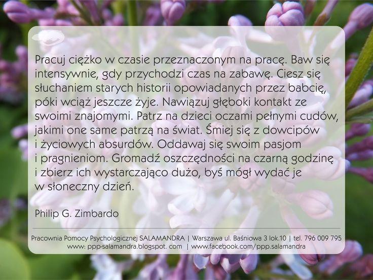 Dobry psycholog Warszawa cytuje profesora Zimbardo