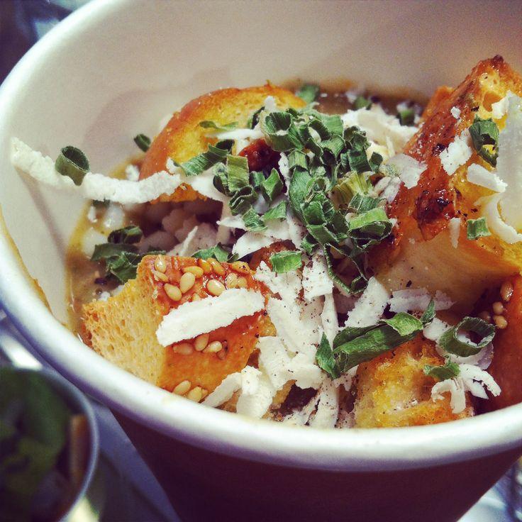 #soup #potatoes #carrots #bagels  @NanuRoma www.nanubagelbar.it