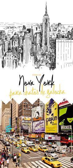 Guia para quatro dias na cidade!  Falar que amo NY é bobagem, aliás, quase todo mundo ama, não é a toa que você vai ver milhares de camisetas dizendo exatamente isso. Estive em NY trêsquatro cinco seis vezes, amando cada vez mais, e...