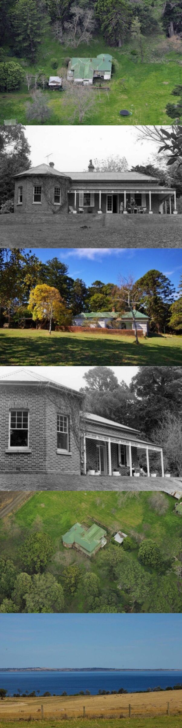 Minto, Merricks (Mornington Peninsula, 87km S of Melbourne), was purchased 1874 by Melbourne nurseryman T.C. Cole for his son, George W. Cole, who built the house in the 1880s of bricks reportedly baked onsite. George trialled paspalum and pine trees at Minto; his father, an associate of Von Mueller, sent exotic trees to plant for experimentation. Many still stand, inc. a rare avenue of stone pines. Minto has had a very long association with the regionally prominent Cole family.