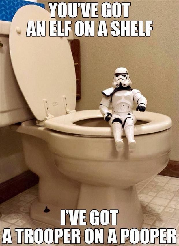 Some of these are great!! The trooper made me giggle haha: