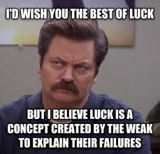 parks and rec Ron Swanson wisdom