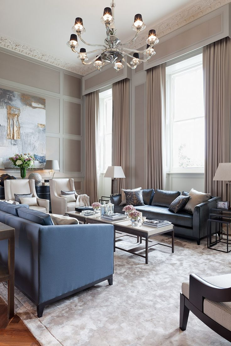 Designs Of Living Room Furniture: Luxury Home Design & Decor