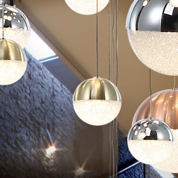 Make A Statement In Your Home With The Striking Schuller Sphere Ceiling Pendant Which Features Twenty Seven Individual Led Lights With Spherical Shades Fi Wohnen