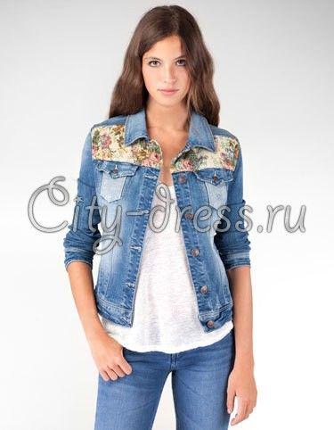 комбинированный жакет из джинсы: 13 тыс изображений найдено в Яндекс.Картинках