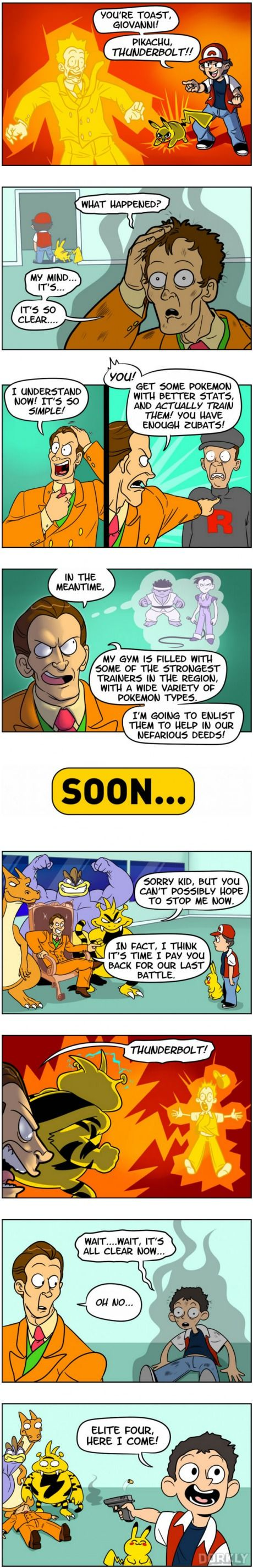 What Would Happen If Pokemon Characters Used Their Brains